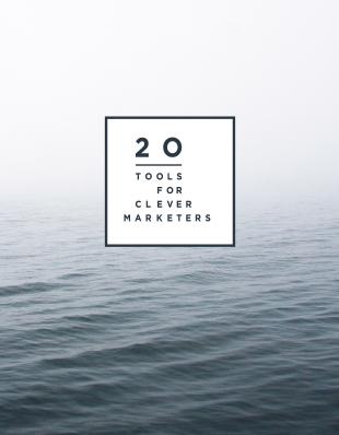 20 Tools voor slimme marketeers
